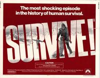 Survive - 11 x 14 Movie Poster - Style A