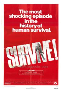 Survive - 27 x 40 Movie Poster - Style B