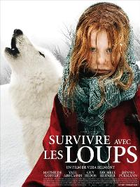 Surviving with Wolves - 27 x 40 Movie Poster - Belgian Style A