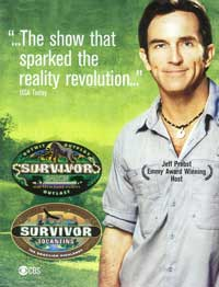 Survivor - 11 x 17 TV Poster - Style B