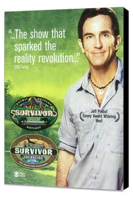 Survivor - 11 x 17 TV Poster - Style B - Museum Wrapped Canvas