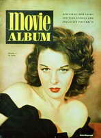 Susan Hayward - 11 x 17 Movie Album Magazine Cover 1940's Style B