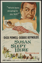 Susan Slept Here - 11 x 17 Movie Poster - Style A