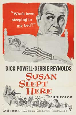 Susan Slept Here - 11 x 17 Movie Poster - Style B
