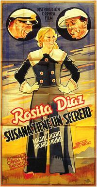 Susana Tiene un Secreto - 27 x 40 Movie Poster - Spanish Style A