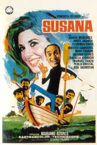 Susana Tiene un Secreto - 11 x 17 Movie Poster - Spanish Style B