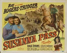 Susanna Pass - 11 x 14 Movie Poster - Style B