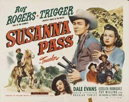 Susanna Pass - 22 x 28 Movie Poster - Half Sheet Style A