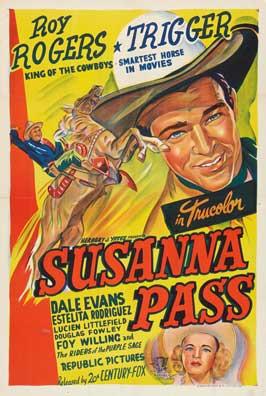 Susanna Pass - 27 x 40 Movie Poster - Style B
