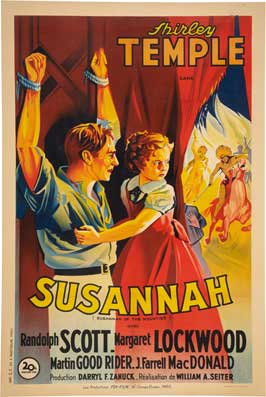 Susannah of the Mounties - 43 x 62 Movie Poster - Bus Shelter Style A