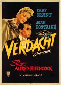 Suspicion - 11 x 17 Movie Poster - German Style A