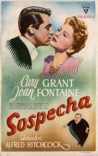 Suspicion - 11 x 17 Movie Poster - German Style B