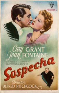 Suspicion - 27 x 40 Movie Poster - German Style B