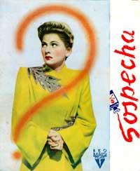 Suspicion - 11 x 17 Movie Poster - Spanish Style A