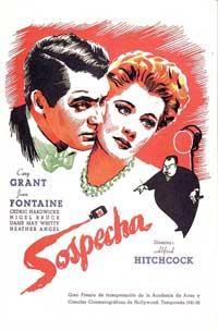 Suspicion - 11 x 17 Movie Poster - Spanish Style B