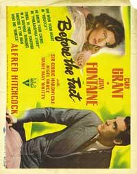 Suspicion - 30 x 40 Movie Poster UK - Style A