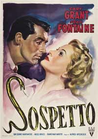 Suspicion - 27 x 40 Movie Poster - Italian Style A