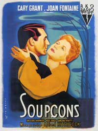 Suspicion - 11 x 17 Movie Poster - French Style B