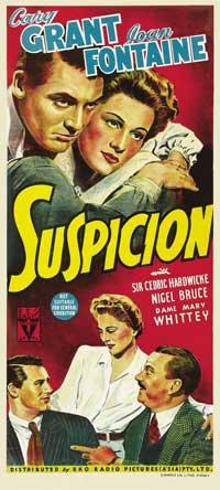 Suspicion - 13 x 30 Movie Poster - Australian Style A