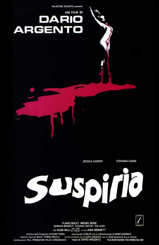Suspiria - 11 x 17 Movie Poster - Italian Style A