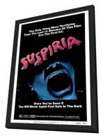 Suspiria - 27 x 40 Movie Poster - Style A - in Deluxe Wood Frame