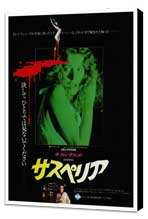 Suspiria - 27 x 40 Movie Poster - Japanese Style A - Museum Wrapped Canvas