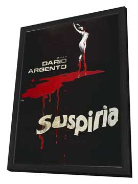 Suspiria - 11 x 17 Movie Poster - Italian Style B - in Deluxe Wood Frame
