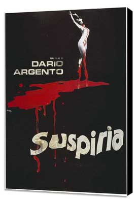 Suspiria - 11 x 17 Movie Poster - Italian Style B - Museum Wrapped Canvas