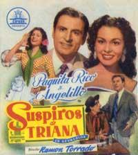 Suspiros de Triana - 11 x 17 Movie Poster - Spanish Style A