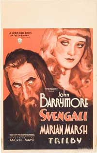 Svengali - 14 x 22 Movie Poster - Window Card