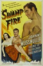 Swamp Fire - 11 x 17 Movie Poster - Style A