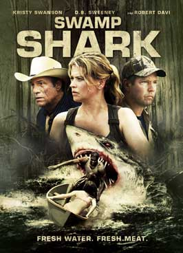 Swamp Shark (TV) - 43 x 62 TV Poster - Style A