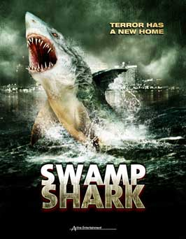 Swamp Shark (TV) - 11 x 17 TV Poster - Style B