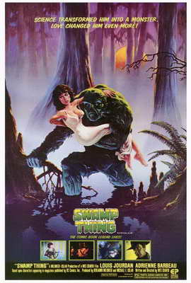 Swamp Thing - 27 x 40 Movie Poster - Style A