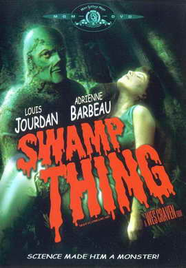 Swamp Thing - 27 x 40 Movie Poster - Style C