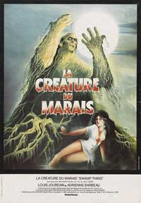 Swamp Thing - 27 x 40 Movie Poster - French Style A