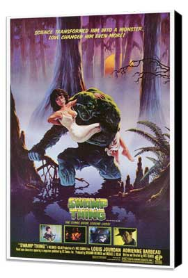 Swamp Thing - 27 x 40 Movie Poster - Style A - Museum Wrapped Canvas