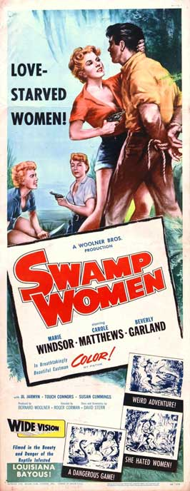 Swamp Woman - 14 x 36 Movie Poster - Insert Style A