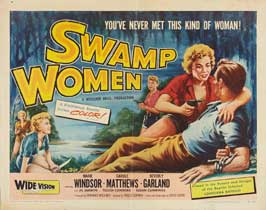 Swamp Woman - 22 x 28 Movie Poster - Half Sheet Style A