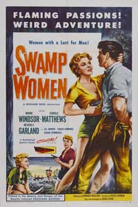 Swamp Women - 11 x 17 Movie Poster - Style A