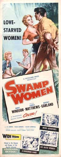 Swamp Women - 14 x 36 Movie Poster - Insert Style A