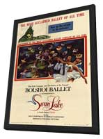 Swan Lake - 11 x 17 Movie Poster - Style A - in Deluxe Wood Frame