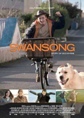 Swansong: Story of Occi Byrne - 27 x 40 Movie Poster - German Style A