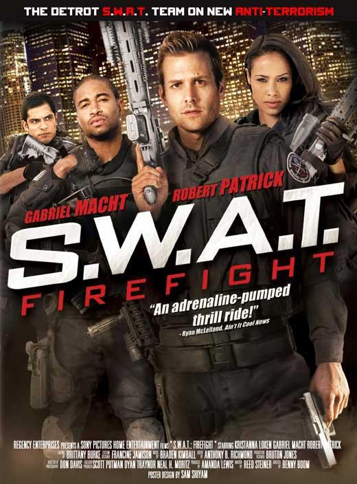 swat firefight movie poster 2011 1020681456 Swat Firefight 2011 [DVDRip]   Español Latino