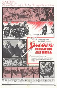 Sweden Heaven and Hell - 11 x 17 Movie Poster - Style A