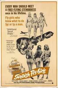 Swedish Fly Girls - 11 x 17 Movie Poster - Style A