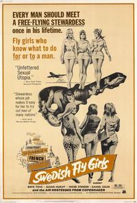 Swedish Fly Girls - 27 x 40 Movie Poster - Style A