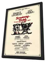 Sweeney Todd (Broadway) - 11 x 17 Poster - Style A - in Deluxe Wood Frame