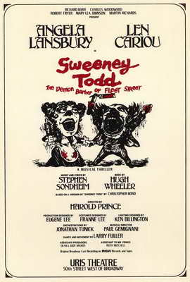 Sweeney Todd (Broadway) - 27 x 40 Movie Poster - Style A