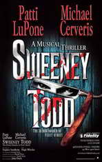 Sweeney Todd (Broadway) - 11 x 17 Poster - Style B